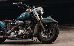 2006 Heritage Softail-Custom Patina Rust Paint Job. Awesome Rat style bike with modern reliability