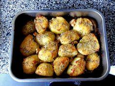 Geroosterde aardappelen zijn nu klaar