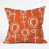 Found it at AllModern - Rachael Taylor Polyester Contemporary Orange Indoor/Outdoor Throw Pillow