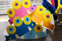 Monster Party Circus Hats