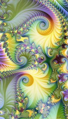 Joyous by Shadoweddancer, love how the spirals draw the eye into and around the painting