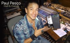 Paul Pesco with is Sonuus Wahoo Pedal