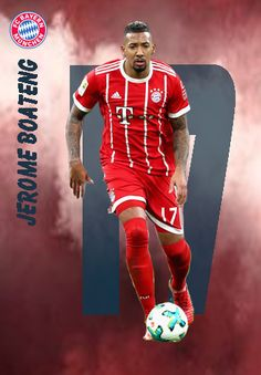 Jerome Boateng of Bayern Munich in Soccer Cards, Baseball Cards, Thomas Muller, Fc Bayern Munich, Football Players, Fifa, Recipies, Wallpapers, Games