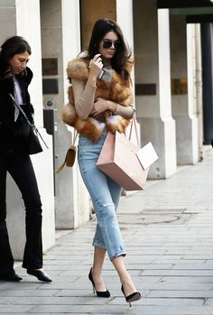 Kendall Jenner  Out in Paris, France.