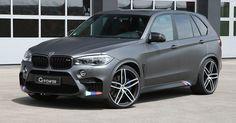 G-Power's BMW X5 M Has More Horses Than A Lambo Aventador #BMW #BMW_X5
