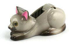 Cat Tape Dispenser - Siamese