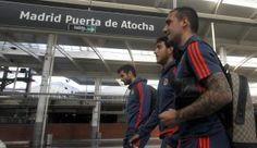 La expedición del Valencia ya está en Madrid