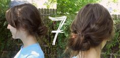 In Motion: 2 Elastics, 7 New Ponytails and Buns--texture #hair
