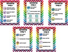 How to organize Words Their Way in your classroom!