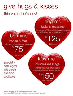 valentine day spa deals