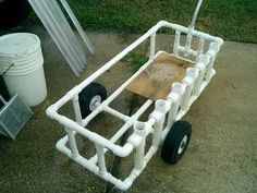 Fishing Cart made from PVC