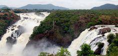 Sivanasamudra Falls. Kaveri River, India.