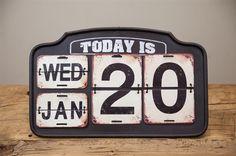 Calendario de Pared Todayis..