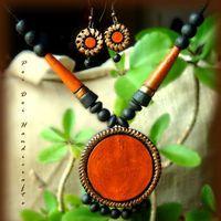 Summer Collection - Summer Sunshine (Round Orange..https://www.facebook.com/terracottajewelryindia