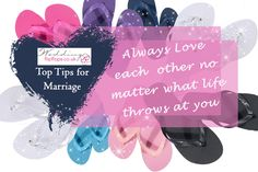 The Wedding Flip Flops team have come up with our top tips for a lasting marriage - choose to love each other, even in those moments you struggle to like each other ! Set Up Email, Money Flowers, Wedding Flip Flops, Seasonal Flowers, Marriage Tips, Flipping, Save Yourself, Wedding Flowers, Special Occasion