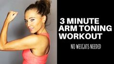 ARM TONING EXERCISES FOR WOMEN - Melt off arm fat and sculpt and tone your arms with these home toning moves