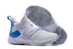 36c14578b92a Nike LeBron Soldier 12 Summit White Provence Purple-BeachMateria AO2609-101  Men s Basketball Shoes James Sneakers AO2609-101