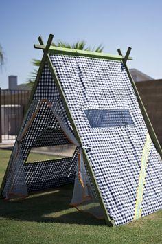 DIY tent