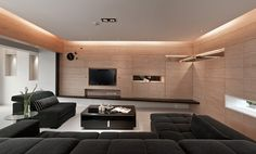 4 Sleek Interiors Where Wood Takes Center Stage - http://www.difthehome.com/4-sleek-interiors-where-wood-takes-center-stage
