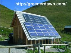 Get solar panels- http://greenerdawn.com