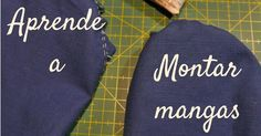 Curso de costura : aprende a montar mangas - - sonia - Diy Clothing, Sewing Clothes, Clothing Patterns, Sewing Patterns, Sewing Basics, Sewing Hacks, Sewing Tutorials, Sewing Projects, Techniques Couture