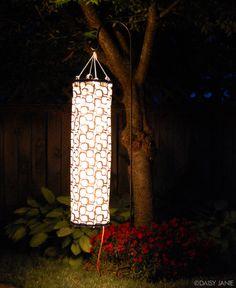 DIY: Windsock Garden Lantern