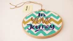 Inspirational It's Your Journey Hand by HandmadebyHolchester