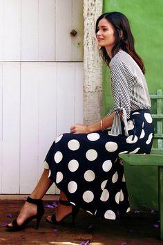 Poppytalk: Fashion Friday | Dot Your Skirts!