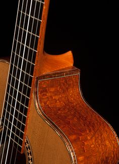 Lacewood Crossover Guitar, Lichty Guitars