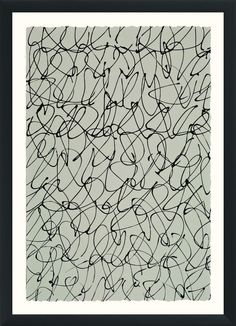 Neutral Pattern Study II - Wendover Art Group - $568 - domino.com