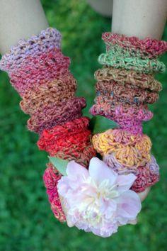 noro crochet mittens