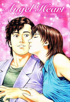 2903x4229 (54%) Anime Couple Kiss, Anime Couples, City hunter, Nicky Larson, Angel Heart, Drawing Reference, Manga Art, Hero, Comics