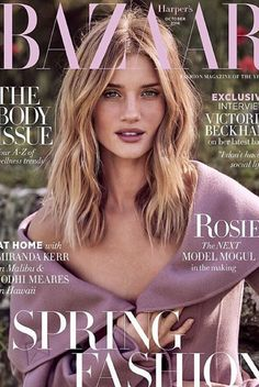 Rosie Huntington-whiteley wearing 1928 Collection