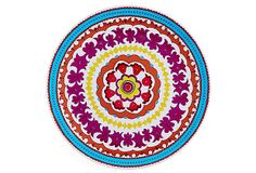 S/4 Suzani Dinner Plates on OneKingsLane.com