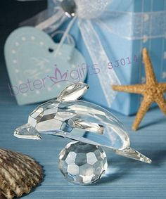 SJ014 Crystal Dolphin Kids Birthday Party Favor Ideas     #crystal #baptismdecoration #partydecoration #weddingideas  http://item.taobao.com/item.htm?id=43820941651
