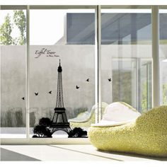 Eiffel tower - I want this on my window
