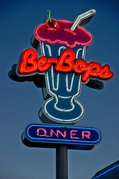 Be-Bops Diner - Ukiah, CA - by Lance Nix