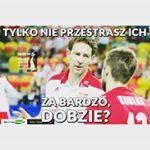 #polish #volleyball #polska #poland #siatkówka #biało #czerwoni #kocham #proud #tysiąc #słów #sweet #fajne #weekend #gopoland #thebest #możdżonek #wysoki #chłopczyk #niski