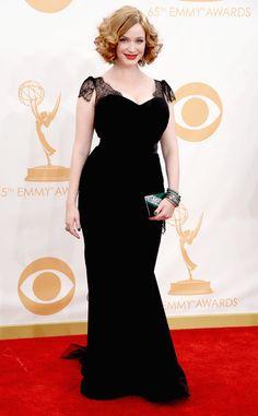 Emmys 2013: Christina Hendricks en Christian Siriano
