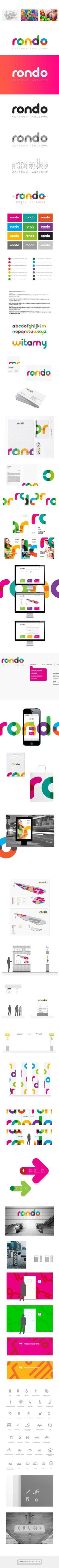 shopping mall RONDO re-branding on Behance | Fivestar Branding – Design and Branding Agency & Inspiration Gallery