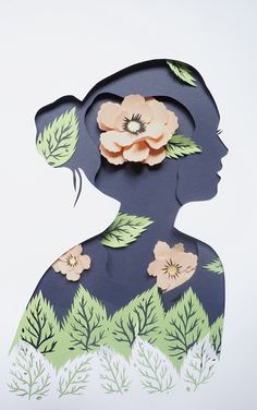 Paper sculpture , paper collage by Eugenia Zoloto