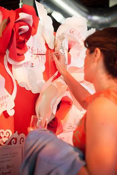 Painting the roses Red.  #altsf #pinterland #juvenilehalldesign http://www.flickr.com/photos/alt_design_summit/