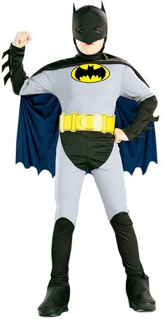 3103946a7202 Déguisements DC Comics - Super Héros - Marvel · Déguisement Batman™ garçon    Ce déguisement officiel de Batman™ pour garçon se compose d