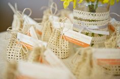 Cute favor bags