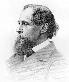 Charles Dickens (1812-1870), célebre escritor británico, el más famoso de los autores de la inglaterra de la época victoriana e indiscutible de los clásicos de la literatura universal, en un grabado de 1870. (Public Domain) #miercolesretratos #EnciclopediaLibre