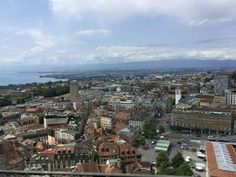 Lausanne, Switzerland, Paris Skyline, Travel, World, Cities, Viajes, Traveling, Trips