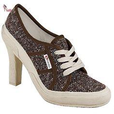 Chaussures Dame - 2065-boucleherringw - Lt Brown - 42 - Chaussures superga (*Partner-Link)