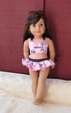 Grace Thomas inspired Paris print Bathing Suit by MySewYouCreations on Etsy $15.00