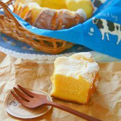 ときどき無性に食べたくなるふわふわのシフォンケーキ。でもお家でケーキ型を使って作るのは少し面倒ですよね。 そんな時、余ったアレを使うだけで簡単にお家でシフォンケーキが作れますよ。