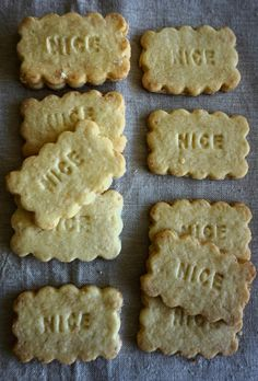 Old Fashioned Nice Biscuits